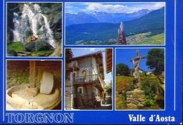 Torgnon - Valle D'aosta - Formato Grande Non Viaggiata – E 12 - Non Classificati