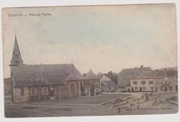 40979  Thimister  Place De  L'église - Couleur - Thimister-Clermont