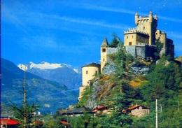 Valle D'aosta - Castello Di St.pierre - Formato Grande Viaggiata – E 12 - Non Classificati