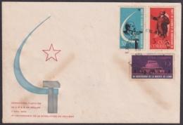 1964-CE-31 CUBA 1964 SPECIAL CANCEL EXPO FILATELICA RUSIA RUSSIA, BLACK CANCEL - Cuba