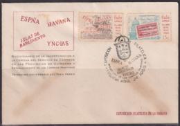 1965-CE-27 CUBA 1965 SPECIAL CANCEL EXPO FILATELICA HABANA, 100 ANIV CORREO MARITIMO. - Cuba
