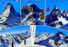 Valle D'aosta - I Giganti - Formato Grande Viaggiata – E 12 - Non Classificati