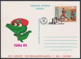 1982-CE-25 CUBA 1982 SPECIAL CANCEL 40 ANIV MUERTE JOSE RAUL CAPABLANCA AJEDREZ CHESS - Cuba
