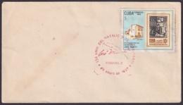 1987-CE-108 CUBA 1987 SPECIAL CANCEL 134 ANIV NACIMIENTO DE JOSE MARTI RED CANCEL. HABANA 3,99 - Cuba