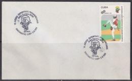 1991-CE-202 CUBA 1991 SPECIAL CANCEL PANAMERICAN GAMES BEISBOL BASEBALL - Cuba