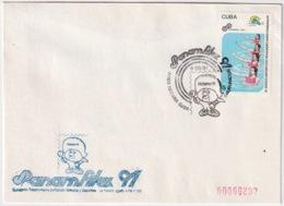 1991-CE-206 CUBA 1991 SPECIAL CANCEL PANAMERICAN GAMES PANAMFILEX 4 AGOSTO INAUGURACION. - Cuba