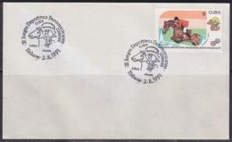 1991-CE-218 CUBA 1991 SPECIAL CANCEL PANAMERICAN GAMES EQUITACION HORSE RIDING CABALLOS - Cuba