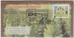2002-CE-17 CUBA 2002 SPECIAL CANCEL FESTIVAL DEL HAVANO TOBACCO TABACO NOCHE BIENVENIDA - Cuba