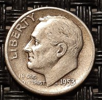 United States 1 Dime 1953 S - Silver - Bondsuitgaven