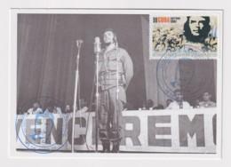 TMA-446 SPAIN ANTILLES 2008 MAXIM CARD ERNESTO CHE GUEVARA. BLUE CANCEL - Maximum Cards