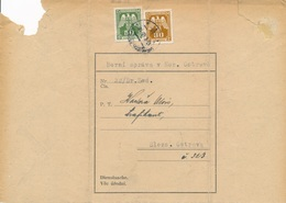 BuM (IMG2983) - Böhmen Und Mähren (1943) Mährisch-Ostrau 1 (letter) Local Tariff: 0,80 K - Böhmen Und Mähren