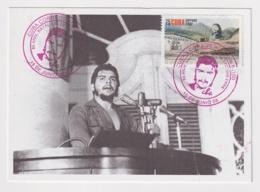 TMA-452 SPAIN ANTILLES 2008 MAXIM CARD ERNESTO CHE GUEVARA. RED CANCEL - Maximum Cards