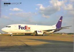 FedEx Express B737-400 Federal OE-IAQ At Airport Brno - 1946-....: Era Moderna
