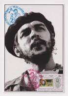 TMA-456 SPAIN ANTILLES 2005 MAXIM CARD ERNESTO CHE GUEVARA. 40 ANIV GUERRILLA EN EL CONGO. - Maximum Cards