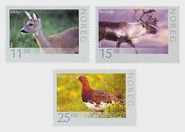 Norway 2009 - Wildlife In Norway IV 2009 Stamp Set Mnh - Sellos