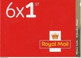 GREAT BRITAIN 2017 Windsor Castle - St. George's Chapel Booklet PM55 - Booklets