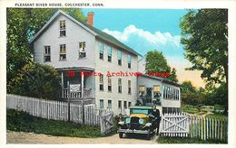 301183-Connecticut, Colchester, Pleasant River House, Tichnor Brothers No 128566 - United States