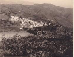 CONTRAVIESA SORVILAN 1924 Photo Amateur Format Environ 7,5 Cm X 5,5 Cm ESPAGNE - Lugares