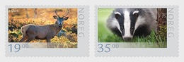 Norway 2014 - Wildlife In Norway VII 2014 Stamp Set Mnh - Años Completos