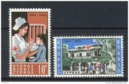 Chipre 1963. Yvert 215-16 ** MNH. - Cyprus (Republic)