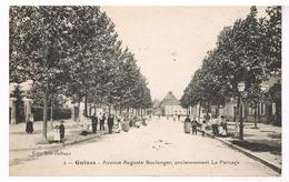 Guines - Avenue Auguste Boulanger, Anciennement Le Parcage - Guines
