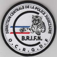 Écusson Police Judiciaire OCRGDF - BRIFN - Police & Gendarmerie