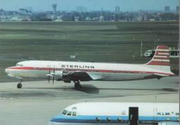 KLM -Sterling Airlines Douglas DC6B OY-BAT - 1946-....: Era Moderna