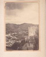GRANADA ALHAMBRA 1909  Photo Amateur Format Environ 7,5 Cm X 5,5 Cm ESPAGNE - Lugares