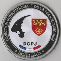 Écusson Police Judiciaire DIPJ Bordeaux (33) - Police & Gendarmerie