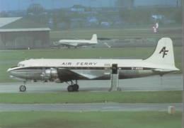 Air Ferry Airlines Douglas DC-4/C 54 Skymaster G-ASOG - 1946-....: Era Moderna
