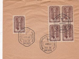 ENVELOPPE COVER  FDC 1949 STAMP CAMPEONATO MUNDIAL DE TIRO EN BLOC - BLEUP - FDC