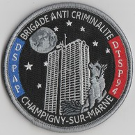 Écusson Police BAC Champigny-sur-Marne (94) - Police & Gendarmerie