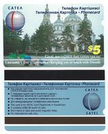 KAZAKHSTAN - Alcatel - Cathedral First Issue $5 CATEA SATEL MINT Neuve - Kazakhstan