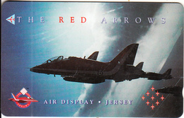 JERSEY ISL.(GPT) - The Red Arrows 1, CN : 48JERA(normal 0), Tirage %25000, Used - Army