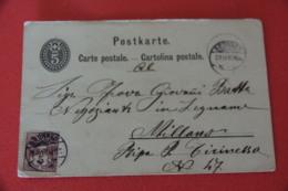 Schwyz Brunnen Advertising Albin Wood Legnami 1887 - SZ Schwyz