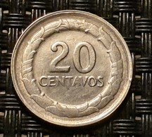 Colombia 20 Centavos 1947 - Silver - Colombia
