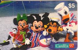 USA - Disney, CardEx 97/Brussels, 10/97, Mint - Disney