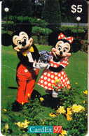 NORWAY - Disney/Mickey & Mini, CardEx 97/Brussels, 10/97, Mint - Disney