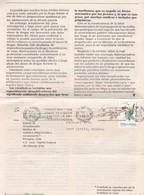 1986 COMMERCIAL COVER RE PSIQUIATRICA BOLETIN ARGENTINE BANDELETA PARLANTE - BLEUP - Lettres & Documents