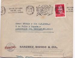 1954 COMMERCIAL COVER FERCEL SANCHEZ, DIORIO & CIA- BUENOS AIRES TO ENTRE RIOS. BANDELETA PARLANTE - BLEUP - Argentine
