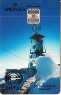 CHILE - R/E Cerro El Roble, Entel Telecard, First Chip Issue 30 Units, Used - Landschappen