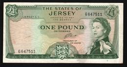 Jersey 1 Pound 1963 (VF)P-8b - Jersey