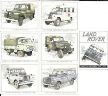 AC38 - SERIE 7 CARTES 7.8 X 6 CM GOLDEN ERA - LAND ROVER THE SERIES II IIa- MODELS 1958/1971 - Voitures