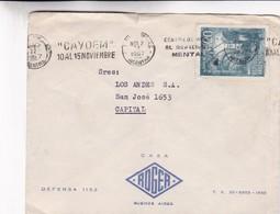 1967 COMMERCIAL COVER ROGER- BUENOS AIRES. BANDELETA PARLANTE - BLEUP - Argentine