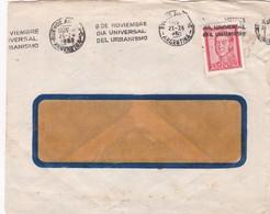 1955 COMMERCIAL COVER LA CASA DE LOS TORNILLOS- BUENOS AIRES. BANDELETA PARLANTE - BLEUP - Argentine