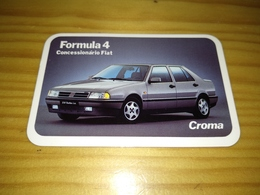 "Calendar Of Pocket Portuguese, ""Car, Fiat"" Advertising Amadora 1992 - Calendari"