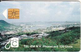 SAINT MARTIN - City View(120 Units), Chip GEM1b, Used - Antilles (Netherlands)