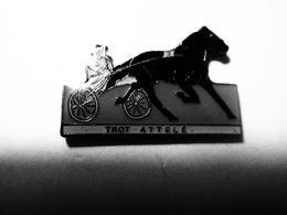 PIN S: Cheval , Hippodrome, TROT Attelé COURSES HIPPIQUES En Version DUBRAY, Course, PMU - Jeux