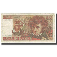 France, 10 Francs, Berlioz, 1976, P. A.Strohl-G.Bouchet-J.J.Tronche, 1976-07-01 - 1962-1997 ''Francs''