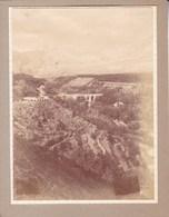 Pont De DURGAL Sur Route De GRANADA à LANJARON 1912  ESPAGNE Photo Amateur Format Environ 7,5 Cm X 5,5 Cm - Lugares